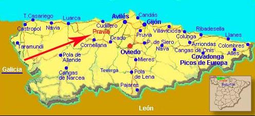 Asturias  Pravia
