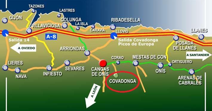 Asturias Covadonga