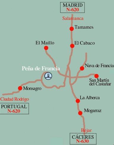Salamanca Peña De Francia