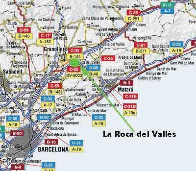 Barcelona la roca del vall s for Centro la roca