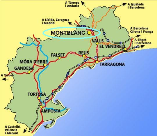 Tarragona montblanc for Pisos en el vendrell