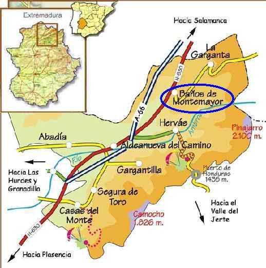 Baños Romanos Merida: romano que unía Astorga con Mérida , según el itinerario Antonino