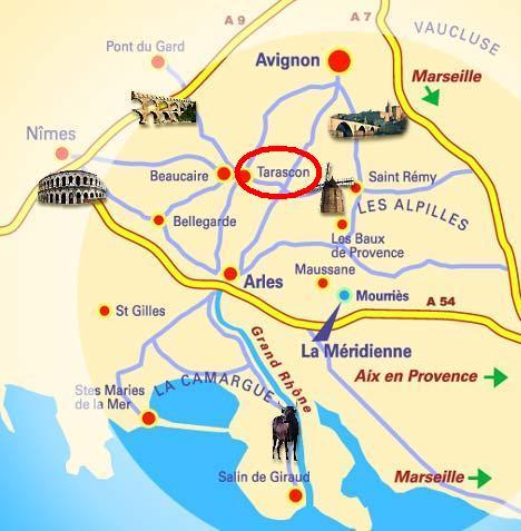 Francia provence c te d 39 azur tarascon - Casas en la provenza ...
